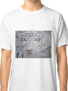 White Tiger - Look Into My Eyes Classic T-Shirt