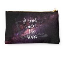 I read under the stars Studio Pouch