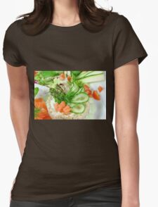 Rice & More Womens Fitted T-Shirt