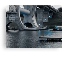 Structure of the Falkirk Wheel Canvas Print