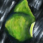 Cut Pear  by Simon Rudd
