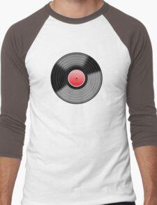 Vinyl Record 1 Men's Baseball ¾ T-Shirt
