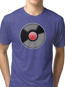 Vinyl Record 1 Tri-blend T-Shirt