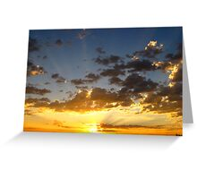 Let The Sun Rise and Shine~ Greeting Card