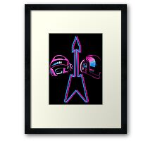 The Robotic French Duo! Framed Print