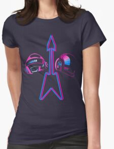 The Robotic French Duo! Womens Fitted T-Shirt