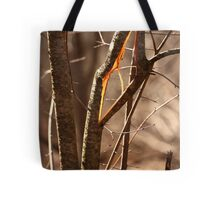 Saw Tree was 'Broke' this way Tote Bag