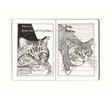Charlie & Joey Art Print