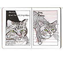 Charlie & Joey Photographic Print