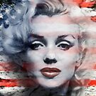 A Marilyn Flag by Cliff Vestergaard