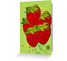 The Berries Greeting Card