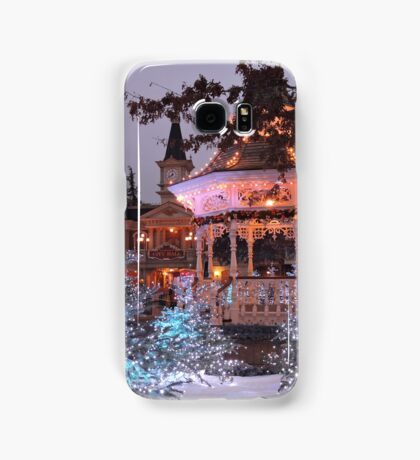 Christmas Bandstand Samsung Galaxy Case/Skin