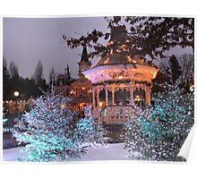 Christmas Bandstand Poster