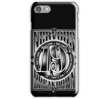 19th Nervous Breakdown iPhone Case/Skin