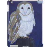 On The Hunt - Barn Owl iPad Case/Skin
