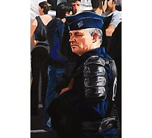 French Policeman Photographic Print