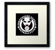 Portuguese Pandas Framed Print