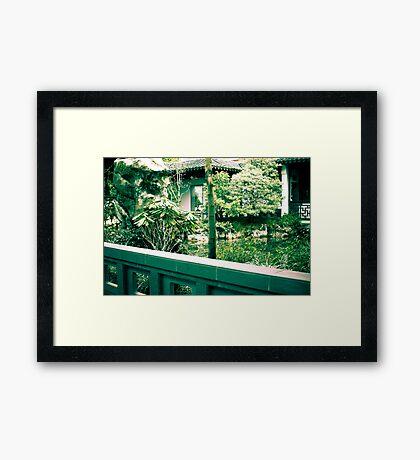 hidden in loste Framed Print