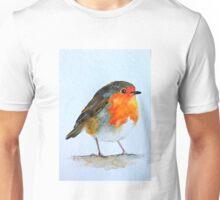 Winter Robin Unisex T-Shirt