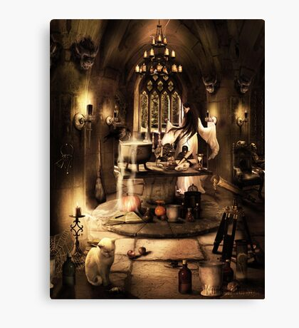 Witches dungeon Canvas Print