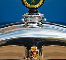 1926 Cadillac Series 314 Custom Hood Ornament by Jill Reger