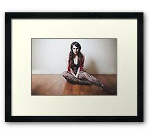 No Luxury Framed Print