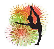 Yoga Dancer Pose Photographic Print