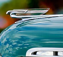 1940 Chevrolet Hood Ornament by Jill Reger
