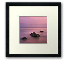 The Magenta Sky Framed Print