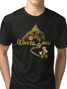 The Happiest Place Left On Earth Tri-blend T-Shirt