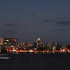 caloundra by night  by warren dacey