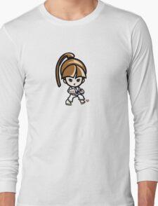 Martial Arts/Karate Girl - Front punch T-Shirt