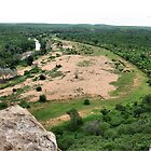 A river runs through it - Makuya - Limpopo Province - SA by Sandy Beaton