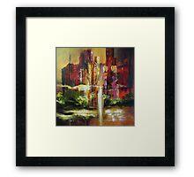 Metropolitan Point of View Framed Print