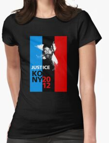 Justice KONY 2012 Womens Fitted T-Shirt