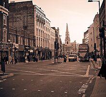 Borough high street by Adam Glen