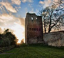 St Leonards Tower - Sundown by Dave Godden