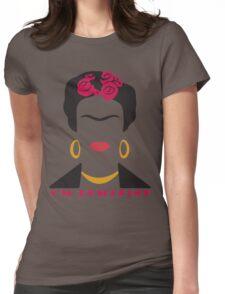 Feminist Frida Kahlo Womens Fitted T-Shirt