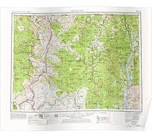 USGS Topo Map Washington State WA Okanogan 239715 1954 250000 Poster