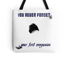 Your First Companion Tote Bag