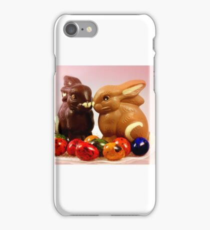 Happy Easter Greetings iPhone Case/Skin