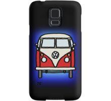 Red White Campervan Samsung Galaxy Case/Skin