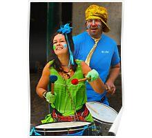 Samba Drummers (2) Poster