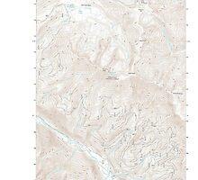 USGS Topo Map Washington State WA Brief 20110601 TM by wetdryvac