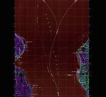 USGS Topo Map Washington State WA Edmonds West 240973 1997 24000 Inverted by wetdryvac