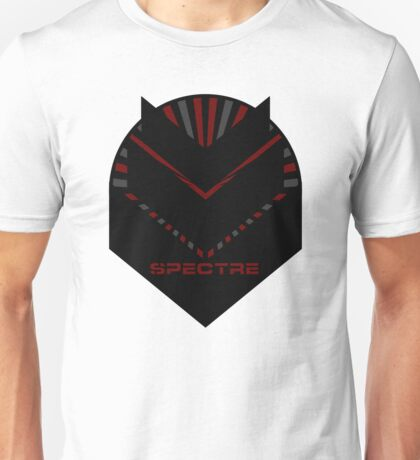 Mass Effect - SPECTRE (Red) Unisex T-Shirt