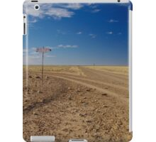 Road to Old Cork Station iPad Case/Skin