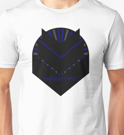 Mass Effect - SPECTRE (Blue) Unisex T-Shirt