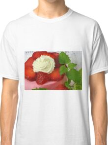 Strawberry Yoghurt Dessert Classic T-Shirt