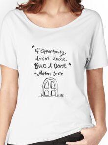 Build A Door Women's Relaxed Fit T-Shirt